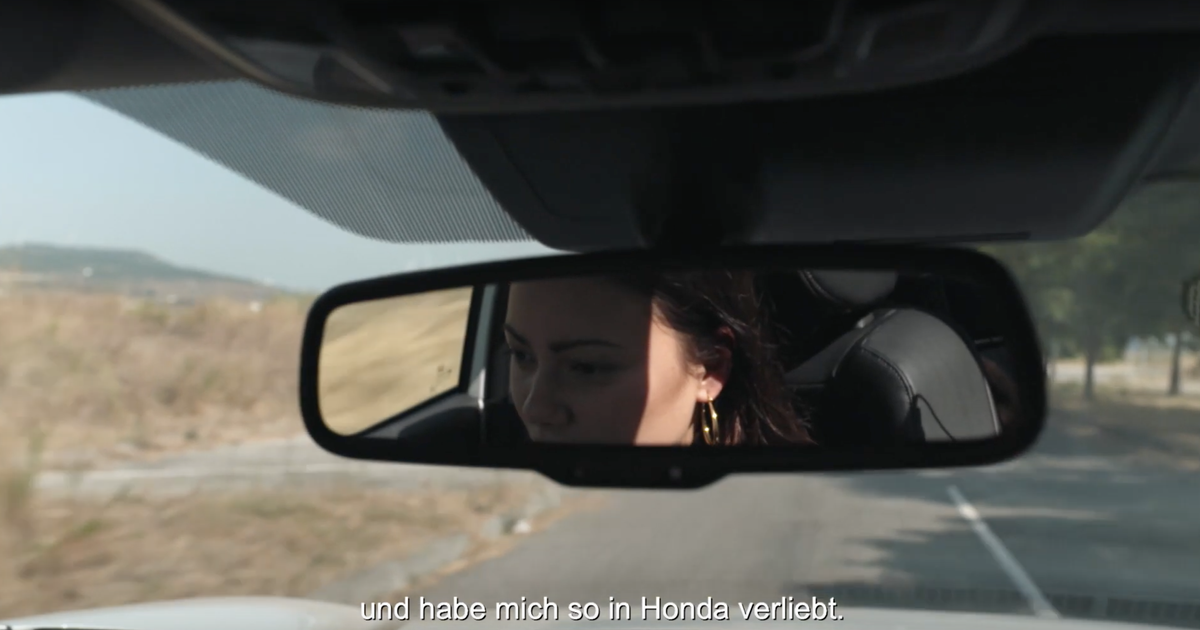 Honda Commercial Role
